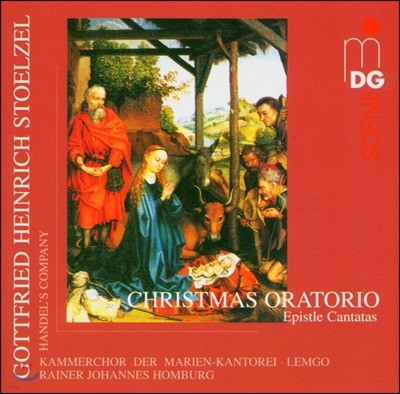 Rainer Johannes Homburg 슈톨첼: 크리스마스 오라토리오 (Stolzel: Christmas Oratorio)