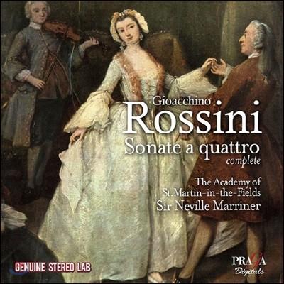 Neville Marriner 로시니: 현악 소나타 1-6번 (Rossini: Sonate a quattro Nos. 1-6)