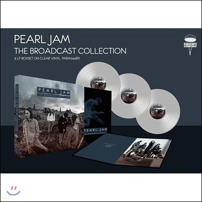 Pearl Jam (펄잼) - The Pearl Jam Broadcast Collection [투명 컬러 3 LP]