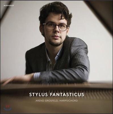 아렌트 흐로스펠트 - 환상양식 하프시코드 연주집 (Arend Grosfeld - Stylus Fantasticus) [LP]
