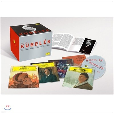 라파엘 쿠벨릭 DG 녹음 전집 (Rafael Kubelik - Complete Recordings on Deutsche Grammophon)
