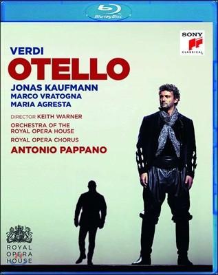 Jonas Kaufmann / Antonio Pappano 베르디: 오텔로 (Verdi: Otello) [Blu-ray]