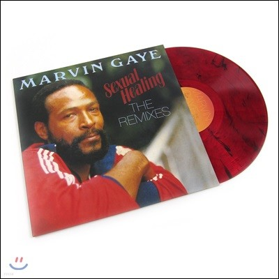 Marvin Gaye (마빈 게이) - Sexual Healing: The Remixes [레드 마블 컬러 LP]