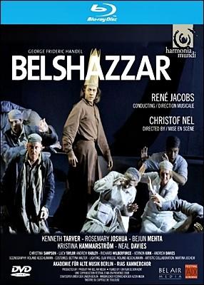 Rene Jacobs 헨델: 오라토리오 `벨샤자르` (Handel: Belshazzar) 르네 야콥스 [Blu-ray]