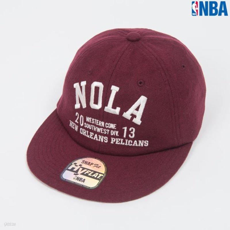 [NBA]NO NEW ORLEANS SOFT SHAPE NEW FIT CAP(N154AP122P)