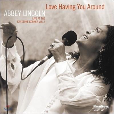Abbey Lincoln (애비 링컨) - Love Having You Around : Live At The Keystone Korner Vol.2