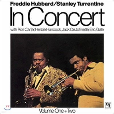 Freddie Hubbard / Stanley Turrentine (프레디 허버드 / 스탠리 터렌타인) - In Concert [2 LP]