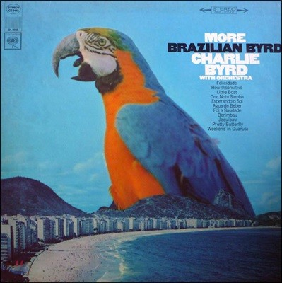 Charlie Byrd (찰리 버드) - More Brazilian Byrd [LP]