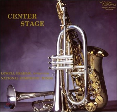 Lowell Graham 관악 앙상블 작품집 (Center Stage) [LP]