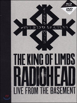 Radiohead - King Of Limbs: Live From The Basement 라디오헤드 라이브 [블루레이+DVD]