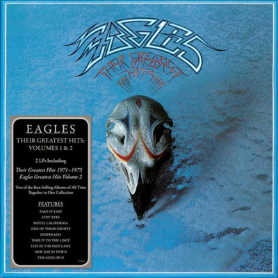 Eagles - Their Greatest Hits Volumes 1 & 2 (180g 2LP)