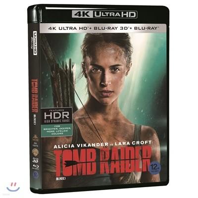 툼 레이더 (4K UHD+3D+2D 3Disc 한정수량) : 블루레이