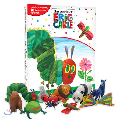 Eric Carle My Busy Book 에릭칼 비지북 피규어책