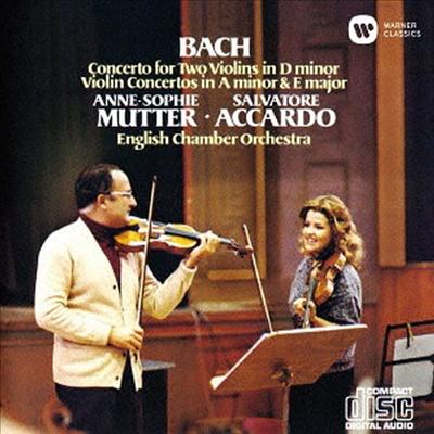 바흐: 바이올린 협주곡 (Bach: Violin Concertos) (UHQCD)(일본반) - Anne-Sophie Mutter