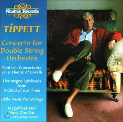 William Boughton 티펫: 이중 현악 오케스트라를 위한 협주곡 (Tippett: Concerto for Double String Orchestra)