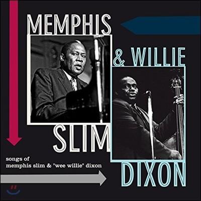 """Memphis Slim & Willie Dixon (멤피스 슬림 & 윌리 딕슨) - Songs of Memphis Slim & """"Wee Willie"""" Dixon [LP]"""