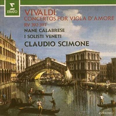 비발디 : 비올라다모레 협주곡 (Vivaldi : Concertos For Viola D'Amore) (일본반) - Claudio Scimone