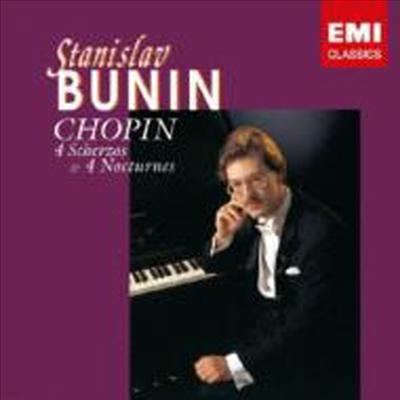 쇼팽: 스케르쪼, 야상곡 (Chopin: Scerzos, Nocturnes) (HQCD) (일본반) - Stanislav Bunin