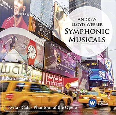 Ettore Stratta 앤드류 로이드 웨버: 심포닉 뮤지컬 (Andrew Lloyd Webber: Symphonic musicals) [관현악 편곡반]