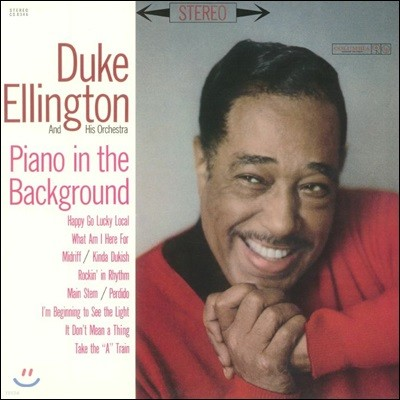 Duke Ellington & His Orchestra (듀크 엘링턴 & 히즈 오케스트라) - Piano In The Background [LP]
