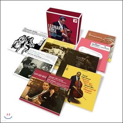 레너드 로즈 - 첼로 소나타 & 협주곡 녹음 전집 (Leonard Rose - The Complete Concerto and Sonata Recordings)