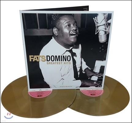 Fats Domino (패츠 도미노) - Greatest Hits [골드 컬러 2 LP]