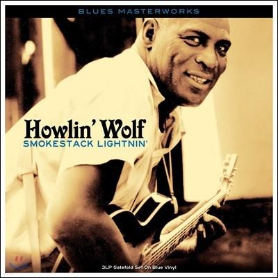 Howlin' Wolf (하울링 울프) - Smokestack Lightnin' [블루 컬러 3 LP]