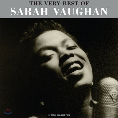 Sarah Vaughan (사라 본) - The Very Best of Sarah Vaughan [골드 컬러 2LP]