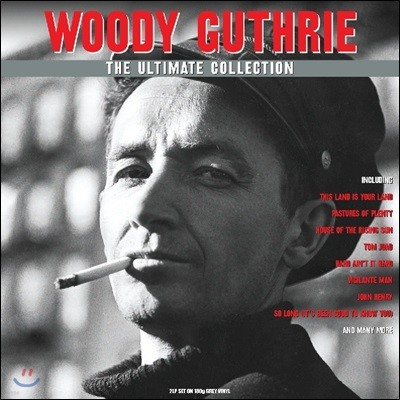 Woody Guthrie (우디 거스리) - The Ultimate Collection [그레이 컬러 2 LP]