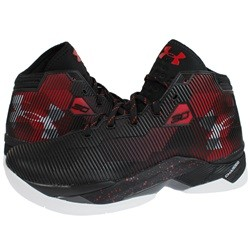 언더아머 커리 2.5 검/빨 (UNDER ARMOUR Curry 2.5 Basketball Shoes) [1274425-001]