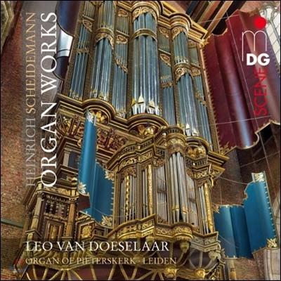 Leo Van Doeselaar 샤이데만: 오르간 작품집 (Scheidemann: Organ Works)