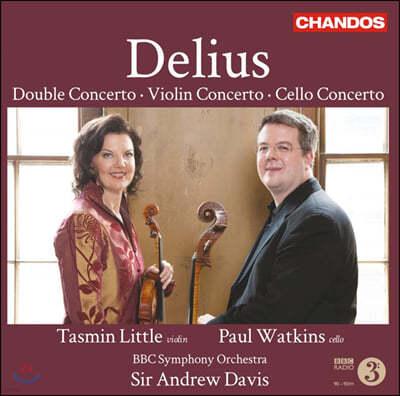 Andrew Davis 프레데릭 델리어스: 더블 협주곡, 바이올린 협주곡, 첼로 협주곡 (Frederick Delius: Violin Concerto, Double Concerto, Cello Concerto)