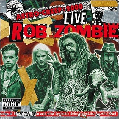 Rob Zombie - Astro-Creep: 2000 Live - Songs Of Love, Destruction And Other Synthetic Delusions Of The Electric Head (Live At Riot Fest) [LP]