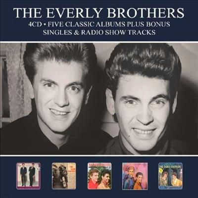 Everly Brothers - Five Classic Albums Plus Bonus Singles & Radio Show Tracks (Remastered)(Digipack)(5CD)