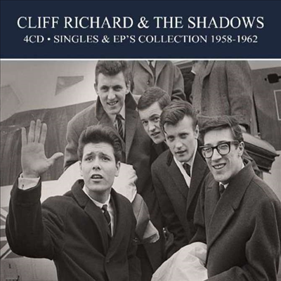 Cliff Richard & The Shadows - Singles & EP Collection 1958 - 1962 (Remastered)(Digipack)(4CD)