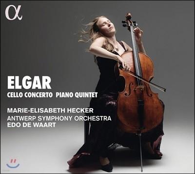 Marie-Elisabeth Hecker 엘가: 첼로 협주곡, 피아노 오중주 (Elgar: Cello Concerto & Piano Quintet)
