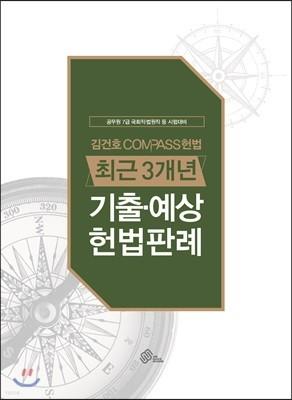 김건호 COMPASS 헌법 최근3개년 기출·예상 헌법판례