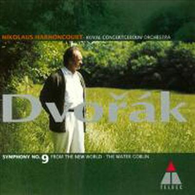 드보르작: 교향곡 9번 '신세계', 물 귀신 (Dvorak: Symphony No.9 'New World', Water Goblin) (일본반)(CD) - Nikolaus Harnoncourt