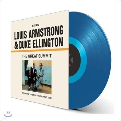 Louis Armstrong & Duke Ellington (루이 암스트롱, 듀크 엘링턴) - The Great Summit [투명 블루 컬러 LP]