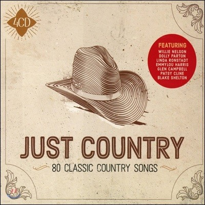 미국 컨트리 음악 모음집 (Just Country - 80 Classic Country Songs)