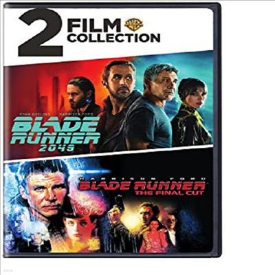 Blade Runner: 2 Film Collection (블레이드 러너 파이널컷/블레이드 러너 2049)(지역코드1)(한글무자막)(DVD)