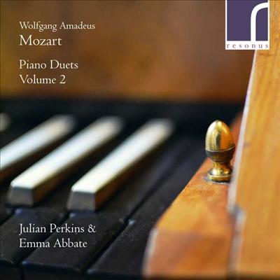 모차르트: 피아노 이중주 작품집 (Mozart: Works for Piano Duo) - Julian Perkins