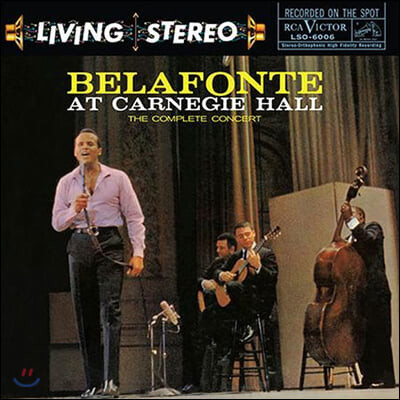 Harry Belafonte (해리 벨라폰테) - Belafonte At Carnegie Hall [2LP]