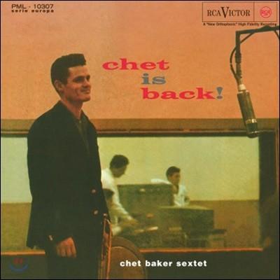 Chet Baker Sextet (쳇 베이커 섹텟) - Chet Is Back [LP]