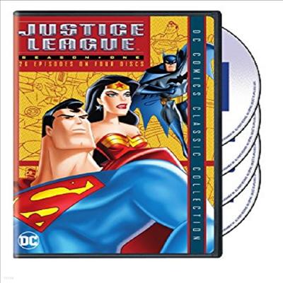 Justice League Of America: Season 1 (슈퍼 히어로 저스티스 리그)(지역코드1)(한글무자막)(DVD)