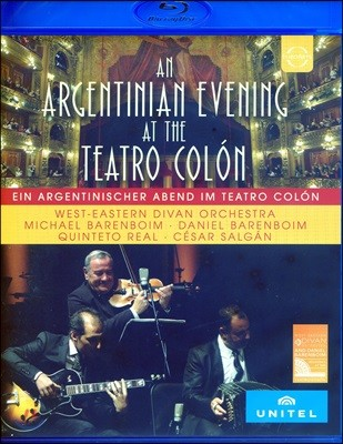 Daniel Barenboim 아르헨티나의 저녁 (A Tango Evening at the Teatro Colon)