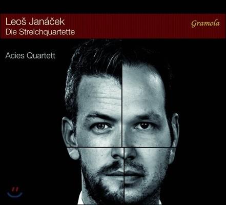 Acies Quartet 야나체크: 현악사중주 1번 '크로이처', 2번 '은밀한 편지' (Janacek: Die Streichquartette)