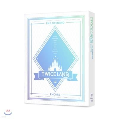 """트와이스 (TWICE) - """"TWICELAND"""" The Opening [Encore] Blu-ray"""