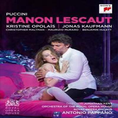 푸치니: 마농 레스코 (Puccini: Manon Lescaut) (한글무자막)(DVD) (2016) - Jonas Kaufmann