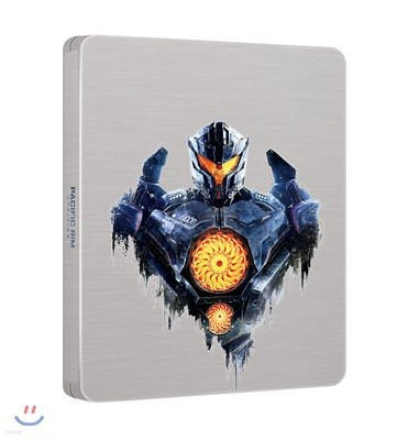 퍼시픽 림 : 업라이징 (3Disc 4K UHD + 3D + 2D 스틸북 한정판) : 블루레이